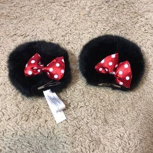Disney Minnie Mouse Clip On Ears